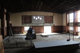 Memorial Hall ongoing Mechanical and Electrical work
