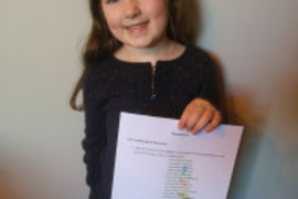 Katy has been busy typing up her own Moody Faces poem! Well done Katy.