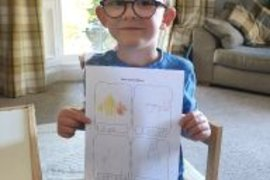 Asher wanted to show you all his lovely English work. You are working so hard Asher - well done.