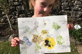 Wow Isobel you have made some fantastic prints. Her secret was using watercolour paper; Miss Addison has ordered some for school so we can all have a go when we get back.