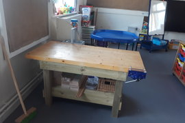 Our class workbench.
