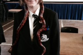 Jessica and Cornsnake