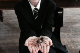 Lilly and Tarantula