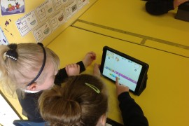 An introduction to coding with ScratchJr in Year 1