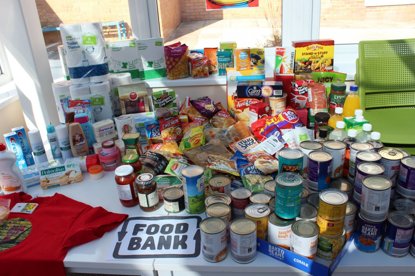 Students Support Wirral Food Bank And We Shall Overcome