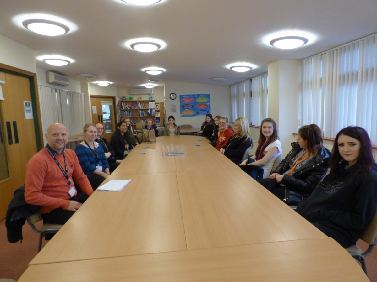Health Amp Social Care Students Visit Claire House