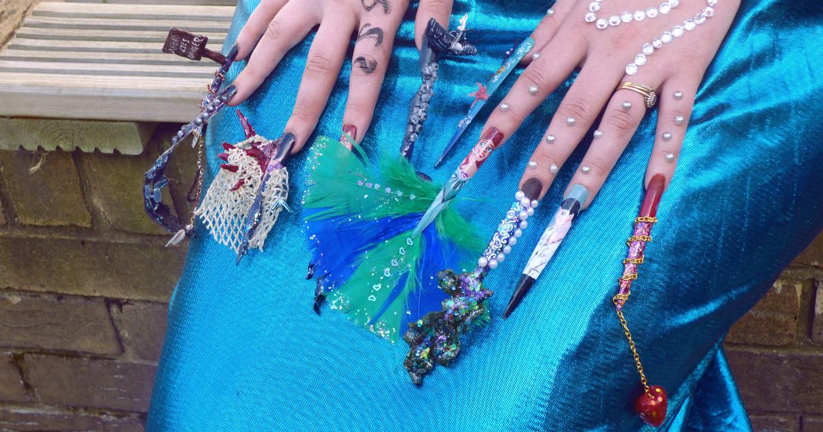Adult Learning Nails Beauty Academy Themed Avant Garde Nails