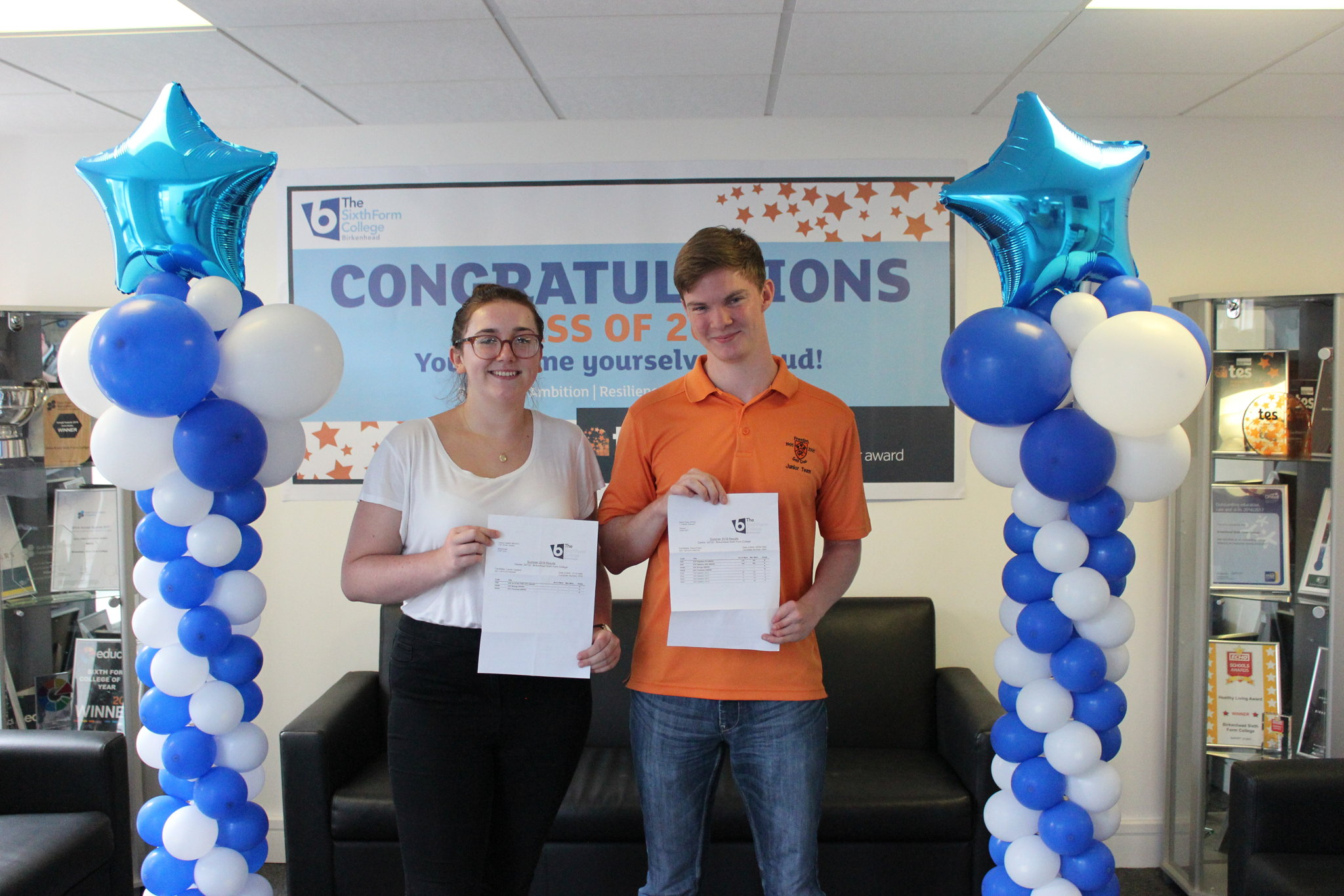 A Level & BTEC Results | Birkenhead Sixth Form College