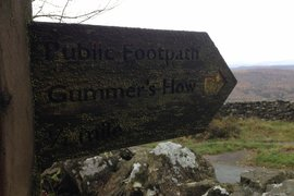 Walking at Gummer's Howe - Fabulous views!