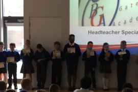 Headteacher's Special Award Winners