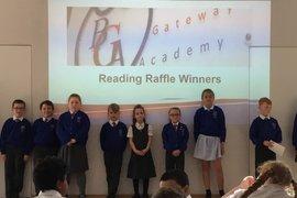 Reading Raffle Winners