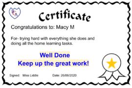 Macy M