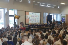 {gallery:Mrs Gibbon's Leavers Assembly}
