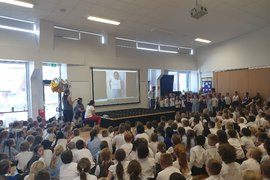 A fond farewell to our much loved Principal Mrs Gibbons. We will all miss you!