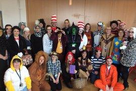 Gateway staff on World Book Day