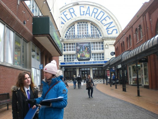 geography coursework blackpool