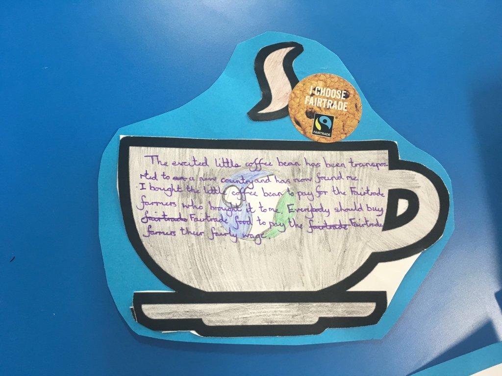 Fairtrade and Poetry   Bramham Primary School