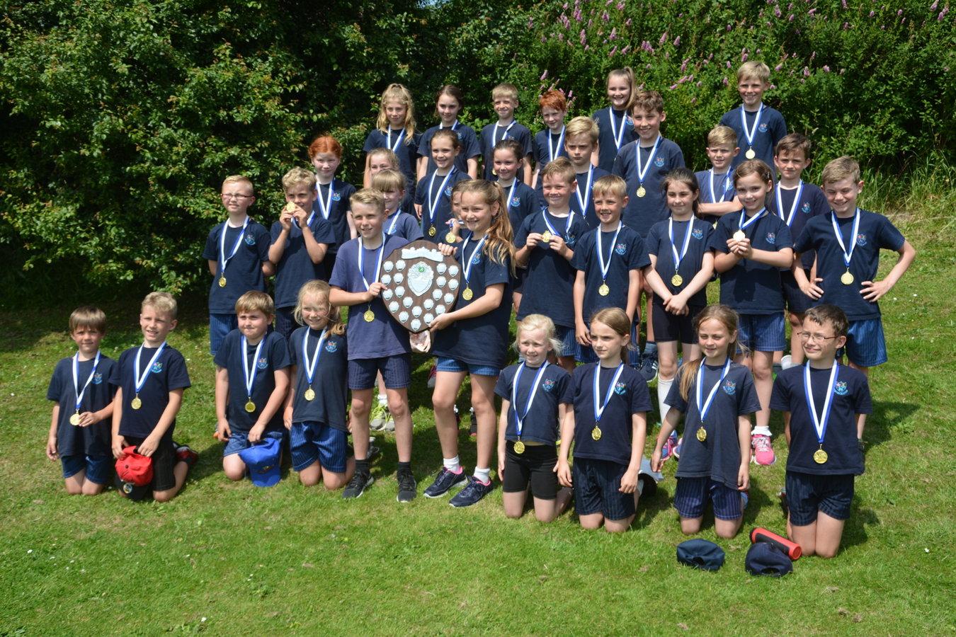 Interschool Athletics Sports Day 2017 Carr Hill High