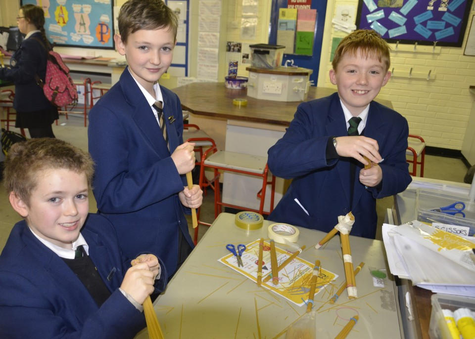 STUDENTS CELEBRATE NATIONAL SCIENCE AND ENGINEERING WEEK ...