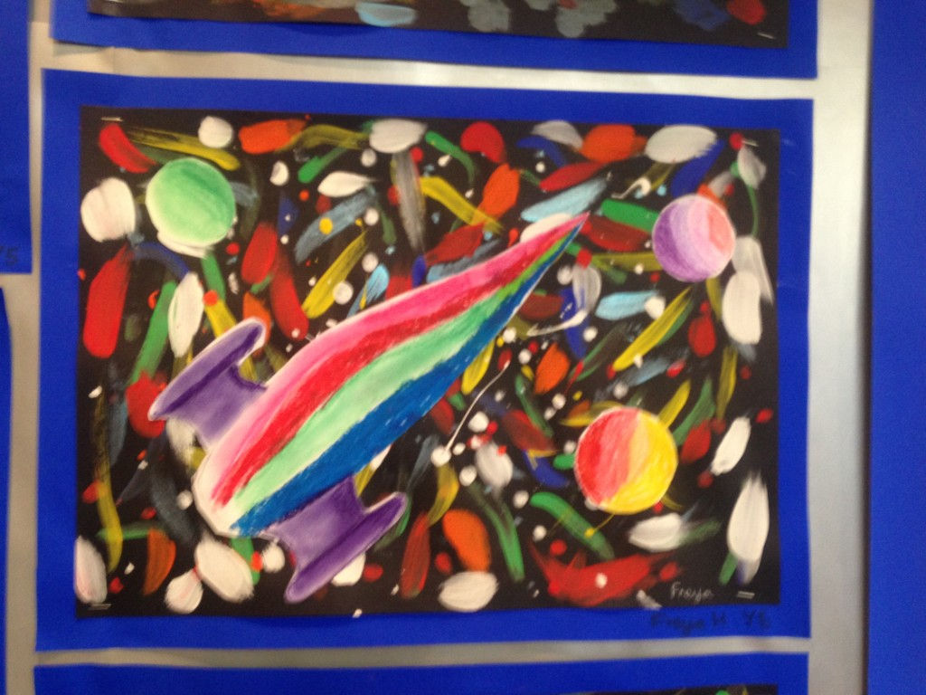 Our Peter Thorpe Art Work Catforth Primary School