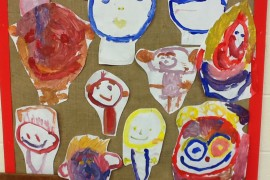 Lion Class painted each other.