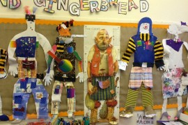 Tiger Class used collage skills to make giants.