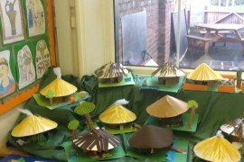 An example of Tiger Class' Celtic roundhouses