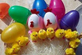 Easter Chicks by Dollcie, Sami and Rosie