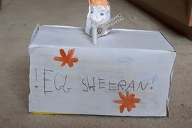 'Egg' Sheeran by Ruby and Issy