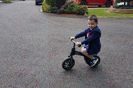 Becoming a balance-bike expert!