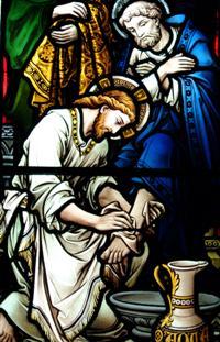 https://files.schudio.com/cathedralprimaryschool/images/CatholicLifeoftheschool/Peter_footwash_(guide).jpg