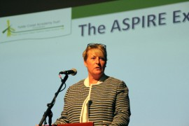 Aspire Academy Principal, Lisa Shuttleworth-Brown