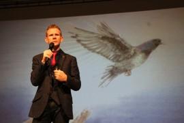 Richard McCann inspiring FCAT staff