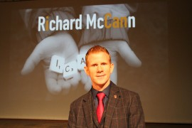 Motivational speaker Richard McCann