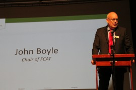 John Boyle, Chair of FCAT gives his views on the upcoming academic year