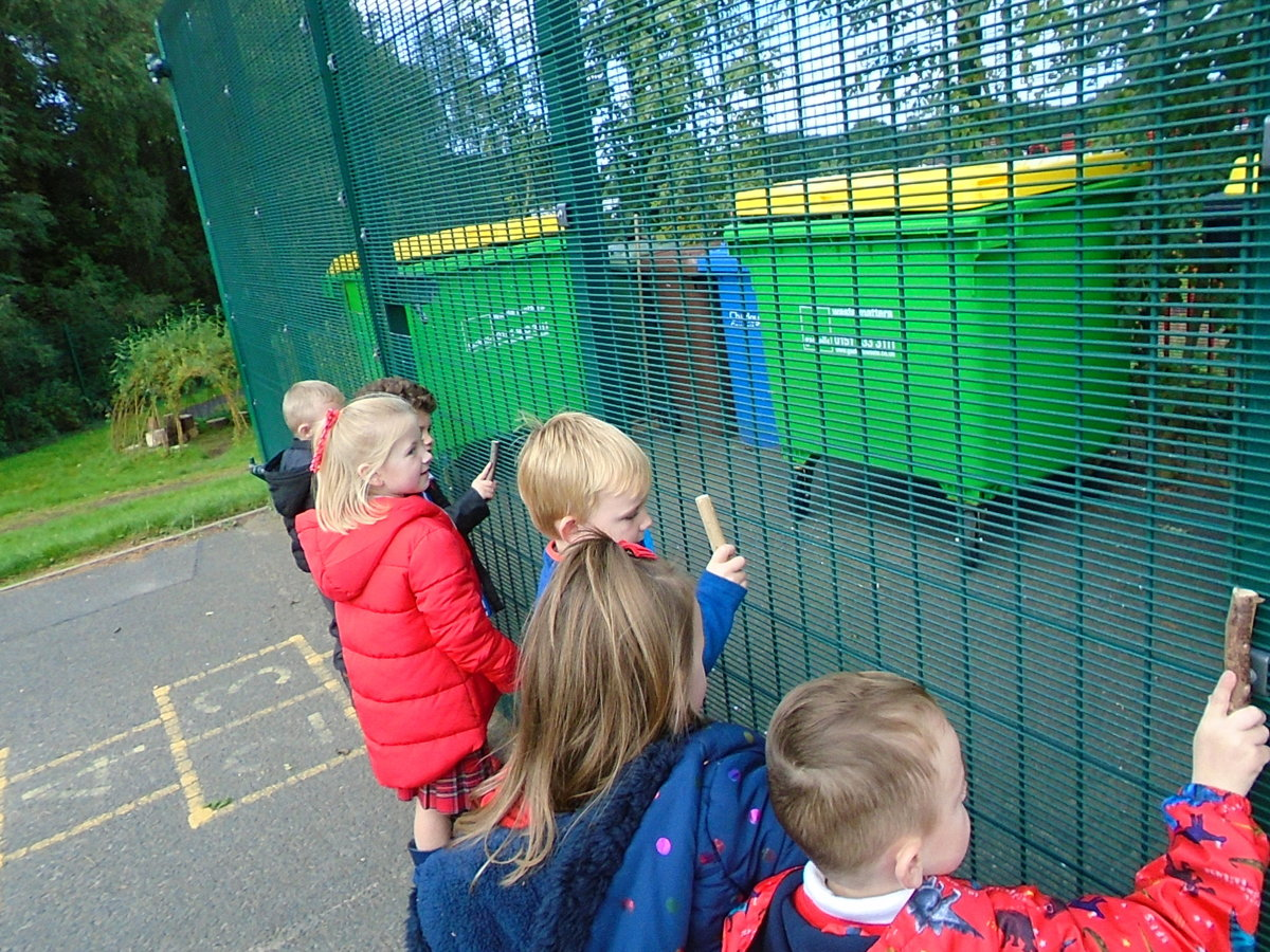 Oak Class learn outdoors | Gillibrand Primary School