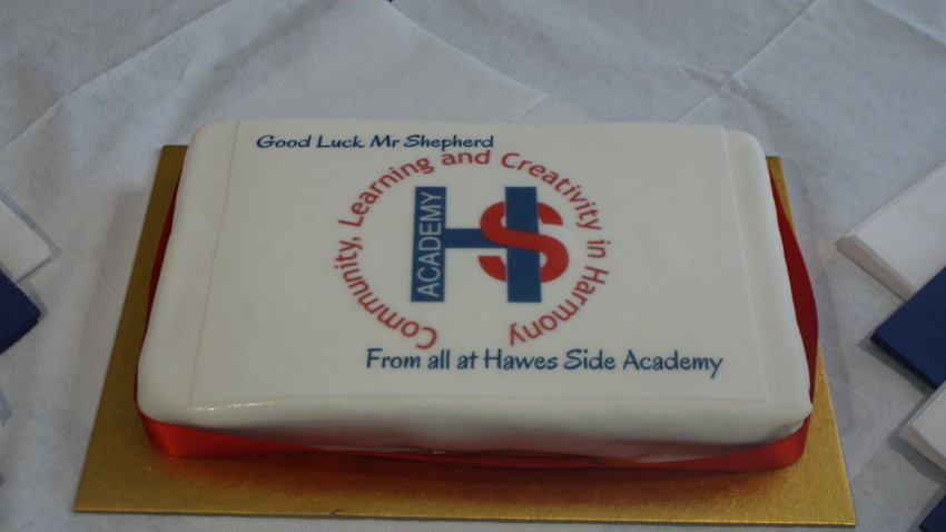 Thank you and farewell Mr Shepherd!   Hawes Side Academy