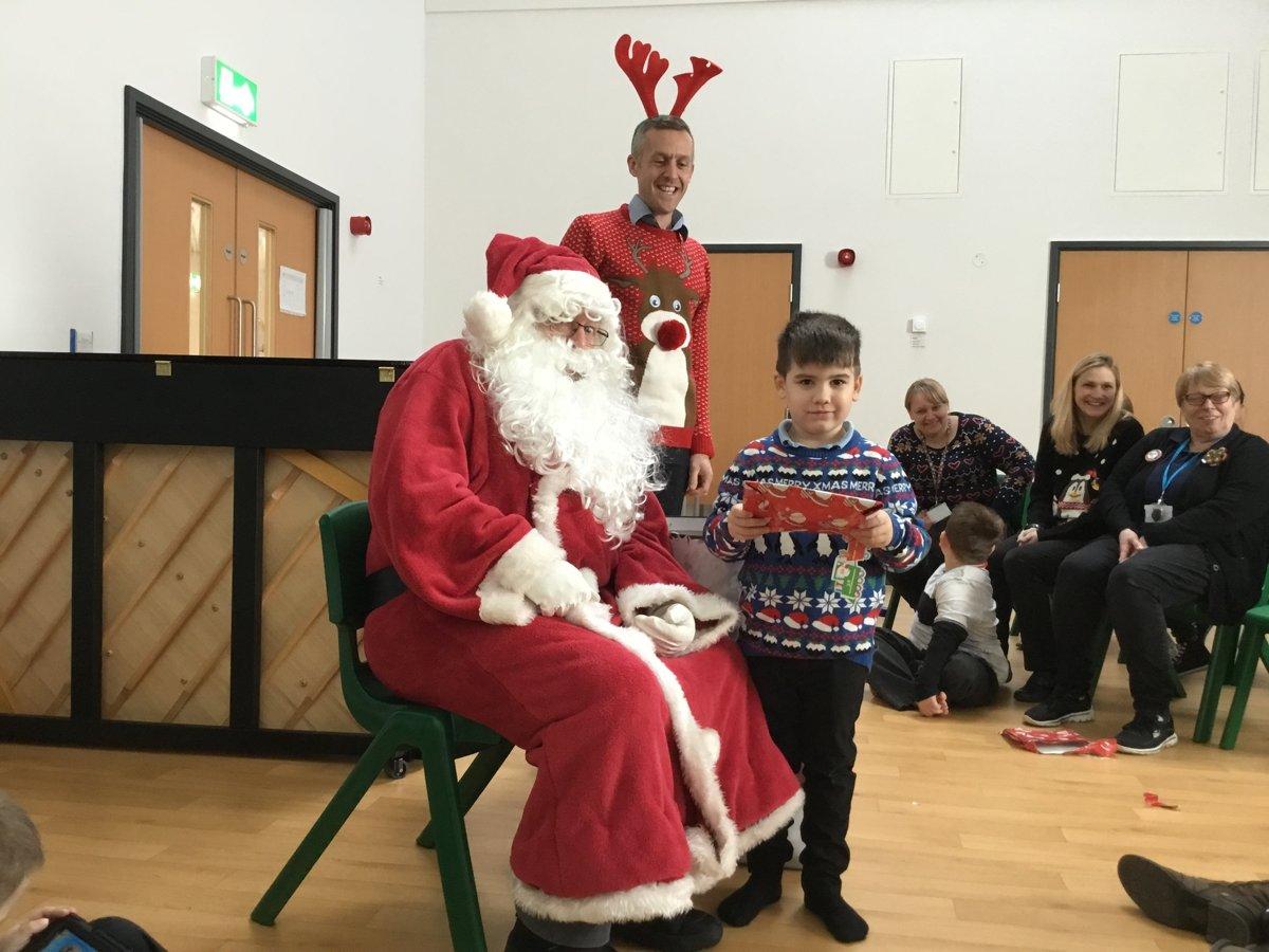santa visited highfield littleport