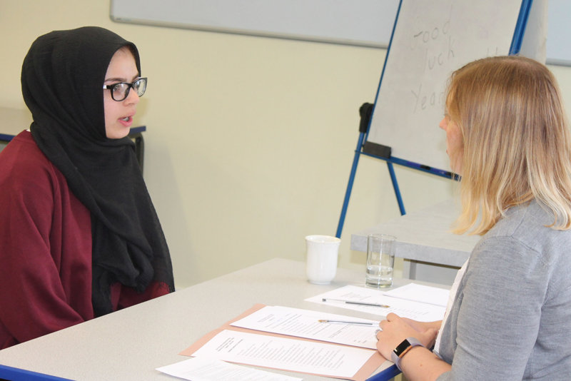 Year 10 Work Experience Interviews Hodge Hill Girls School