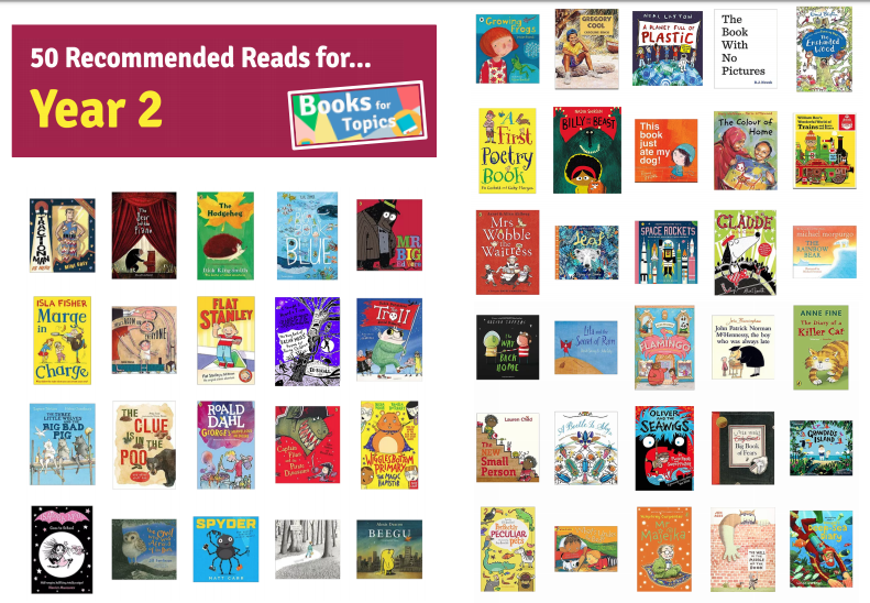 Image result for year 2 recommended reads