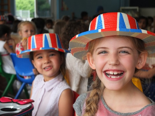 On Friday The Children Came Dressed In Red White And Blue To Celebrate Queen Elizabeths Official Birthday They Were Supposed Have A Street Party