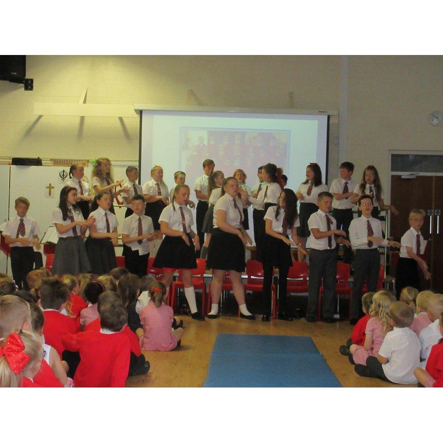 Year 6 Leavers photos | Kirkham and Wesham Primary School