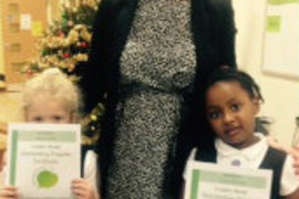 Miss James' class Foundation Stage 2 Willow proud achievers.