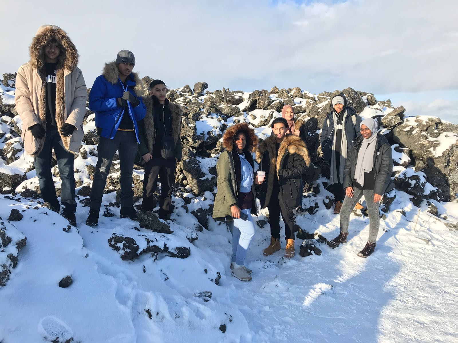 Geography trip to Iceland 2017