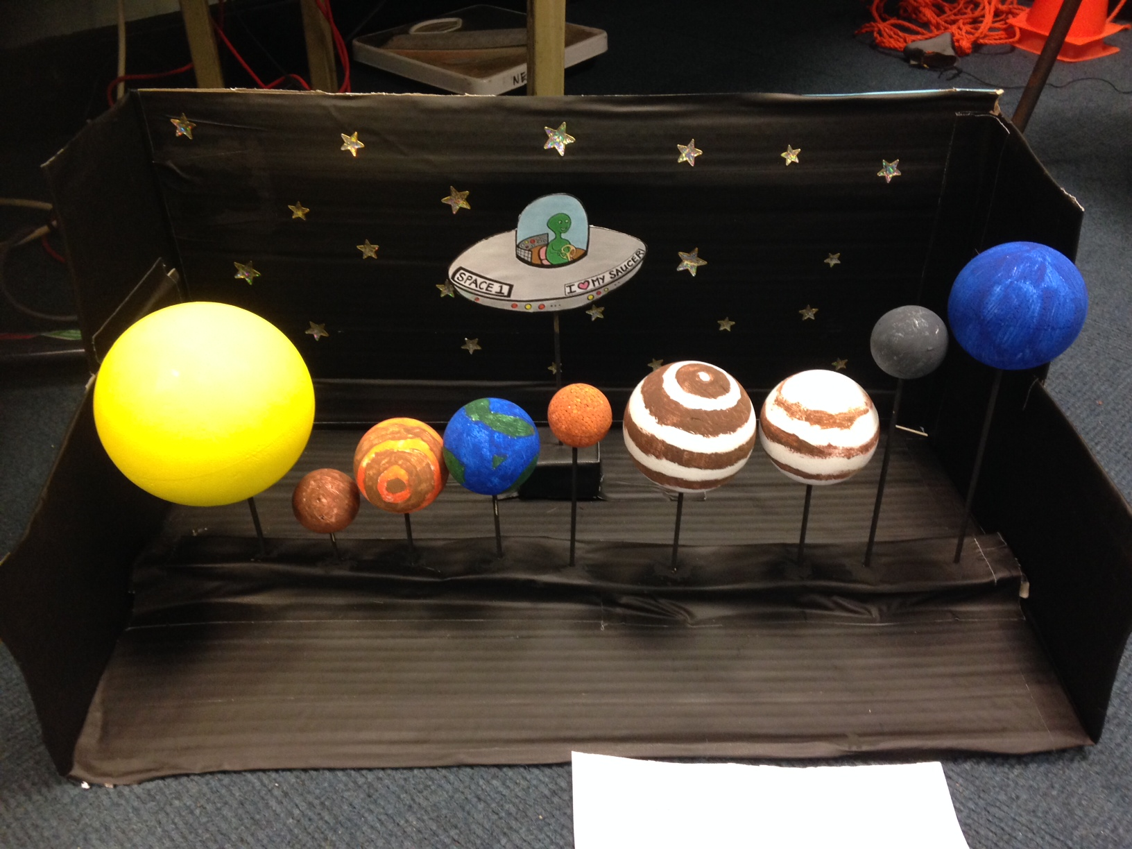 Images of How To Make A 3d Solar System Model - www