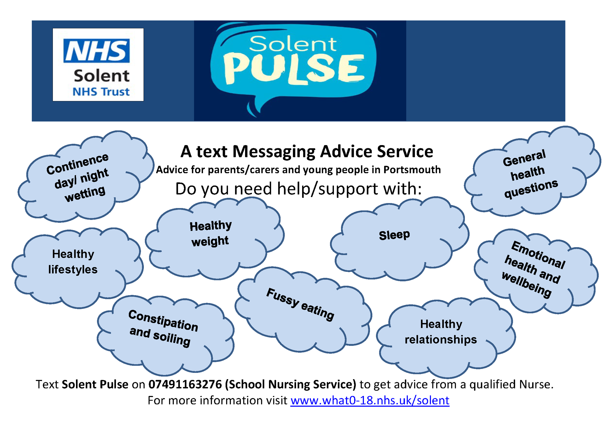 PULSE - School Nursing text service | Mayfield School