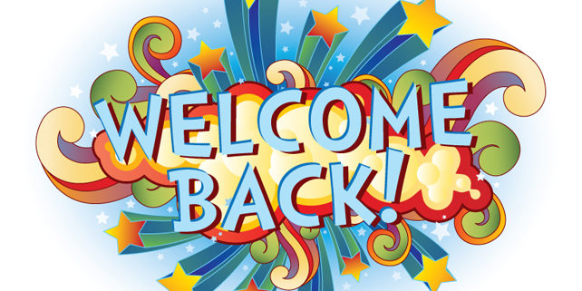 Welcome back!   Park Community Academy