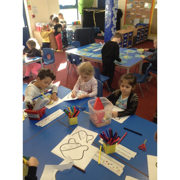 The Children Had Lots Of Fun For In Need Theme Was Something Spotty And They Took Part Diffe Activities During Day