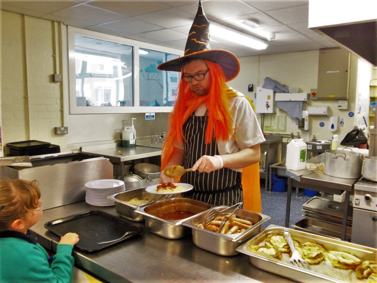 Spooky Halloween Lunch | Revoe Learning Academy