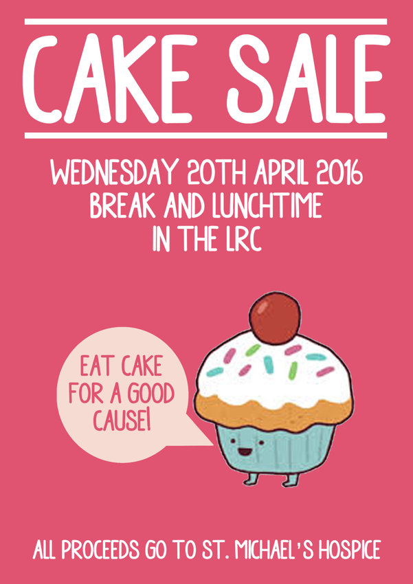 how to make a bake sale poster